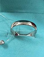 Кольцо серебро ( обручальное). Размер кольца 19.