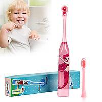 Зубная электрическая щетка детская Русалочка