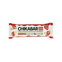 Батончик Chikalab - ChikaBar (Клубника со сливками), 60 гр, фото 1
