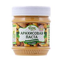 Арахисовая (ореховая) паста АЗБУКА ПРОДУКТОВ КЛАССИЧЕСКАЯ без сахара 340гр