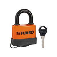 Замок навесной Fuaro PL-3660, 60 мм, 3 английских ключа