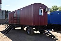 Вагон-дом жилой для 4 человек с комнатой мастера и лабораторией на шасси
