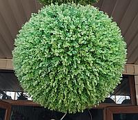 Искусственный самшит, шар (миртовое дерево) без кашпо, D 50 см