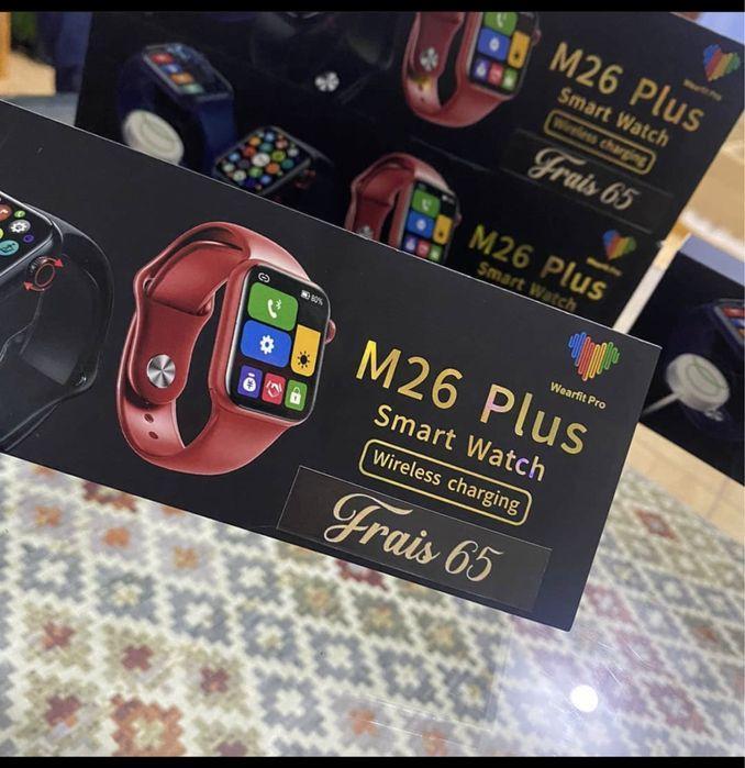 НОВИНКА 2021! Смарт Часы M26 Plus / Apple Watch 6 Series airpods