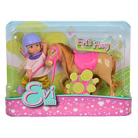 Куколка Simba Эви маленькая пони 3 вида 10 5737464 brown/pink/gold