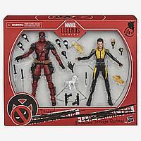 Marvel: Legends. X-Men. Набор фигурок Deadpool and Negasonic Teenage Warhead 15см