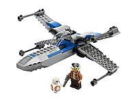 LEGO: Истребитель Сопротивления типа X Star Wars 75297