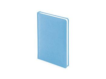 Ежедневник недатированный А5 Velvet, небесно-голубой