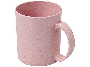 Чашка из пшеничной соломы Pecos 350 мл, розовый