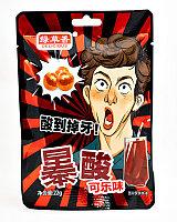 Конфеты Супер Кислые Delicius Кола 22 гр (20 шт в упаковке) Япония