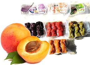 Чурчхела с грецким орехом и АБРИКОСОМ 150 гр СУДЖУХ пакет (10 шт в упаковке)