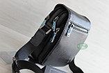 Мужская барсетка, сумка через плечо из натуральной кожи HT, фото 3