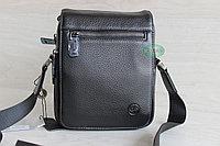 Мужская барсетка, сумка через плечо из натуральной кожи HT