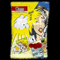 Конфеты Супер Кислые Du Shi Ke Shi Pin Комиксы ЛИМОН 24 гр (20 шт в упаковке) Япония