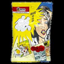 Конфеты Супер Кислые Dushike High Quality Комиксы ЛИМОН ЖЕЛТЫЕ 24гр (20шт-упак) Япония