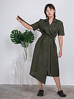 """Платье """"Вдохновение"""" Зеленый, 50/52"""