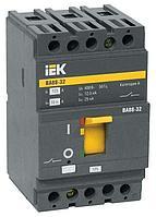 Выключатель автоматический 3п 100А 25кА ВА 88-32 SVA10-3-0100 IEK