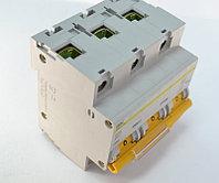 Выключатель автоматический модульный 3п D 100А 10кА ВА47-100 MVA40-3-100-D IEK