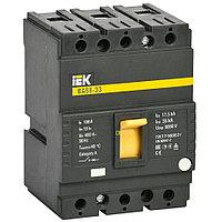 Выключатель автоматический 3п 100А 35кА ВА 88-33 SVA20-3-0100 IEK
