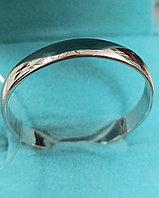 Кольцо серебро ( обручальное). Размер кольца 24,5.
