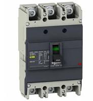 Выключатель автоматический 3п 3т 100А 18кА EZC100N EZC100N3100 SchE