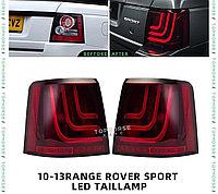 Задние фонари на RANGE ROVER SPORT 2010-13 дизайн GL-3 GLOHH (Красный), фото 1