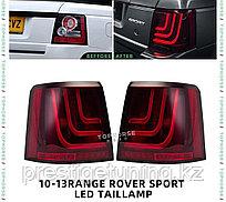 Задние фонари на RANGE ROVER SPORT 2010-13 дизайн GL-3 GLOHH (Красный)