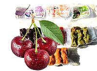 Чурчхела с грецким орехом и ЧЕРЕШНЯ 150 гр СУДЖУХ пакет (10 шт в упаковке)