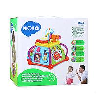 Развивающая игрушка Мультибокс Hola Activity Pyramid