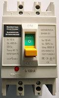 Выключатель автоматический 3п 100А 18кА ВА66-31 GENERICA SAV10-3-0100-G IEK