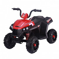 PITUSO Электроквадрацикл 6V4.5Ah,2,40*W*2,колеса пластик,свет,муз,амортиз,86*56*66 см,Красный/RED