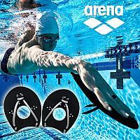 Лопатки гребные для плавания лопасти пластиковые Аrena 9525055 размер L