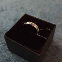 Кольцо обручальное/ Серебро/ 19 размер