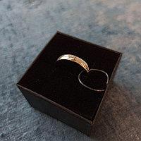 Кольцо обручальное/ Серебро/ 20.5 размер