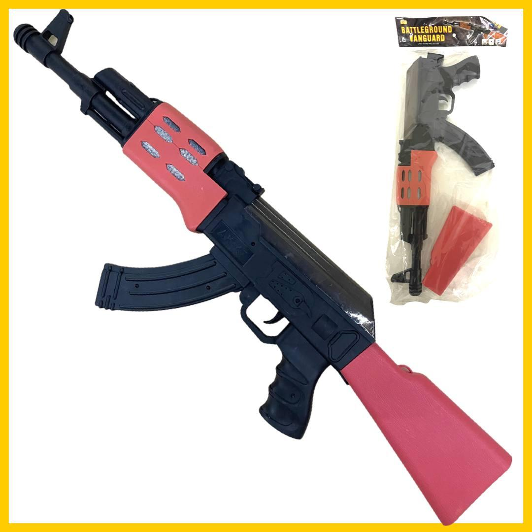 820-6 Автомат АК-47 в пакете муз 49*20см