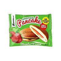 Готовые панкейки с начинкой BombBar - Protein Pancake (Клубничный крем), 40 гр, фото 1