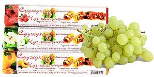 Чурчхела с грецким орехом ВИНОГРАД 300 гр СУДЖУХ в коробках (13 шт в упаковке)
