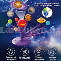 Набор для творчества конструктор модели солнечной системы с проектором Stem planetarium SD 555