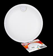 Светильник светодиодный герметичный СПП-Д-КРУГ 12Вт 230В 6500К 960Лм с датч. движ. IP65 4690612032818 IN HOME