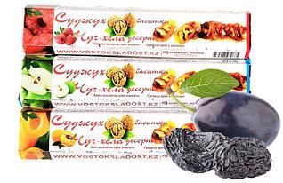 Чурчхела с грецким орехом ЧЕРНОСЛИВ 300 гр СУДЖУХ в коробках (13 шт в упаковке)