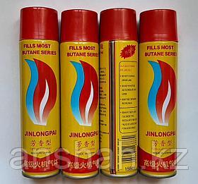 Газ для зажигалок Китай жёлтый