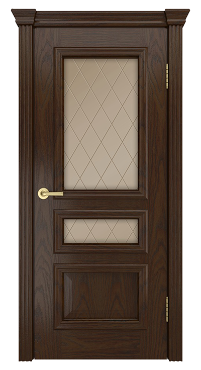 Межкомнатная дверь Агата Т35 стекло 60