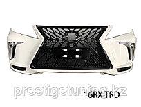 Передний бампер на Lexus RX 2009-15 дизайн TRD