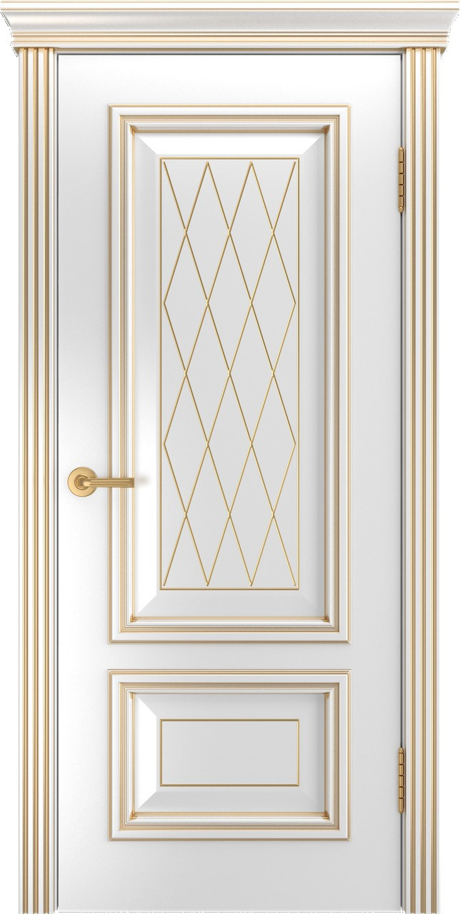 Межкомнатная дверь Виолетта RAL глухое 60