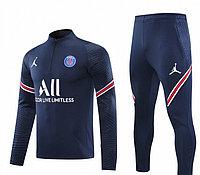 Тренировочный костюм ПСЖ 2021/22 синий