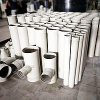 Промышленные воздуховоды из полимерных материалов.