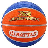 Мяч баскетбольный JOEREX (7, Голубой-оранжевый/ К?гілдір-?ыз?ылт сары)