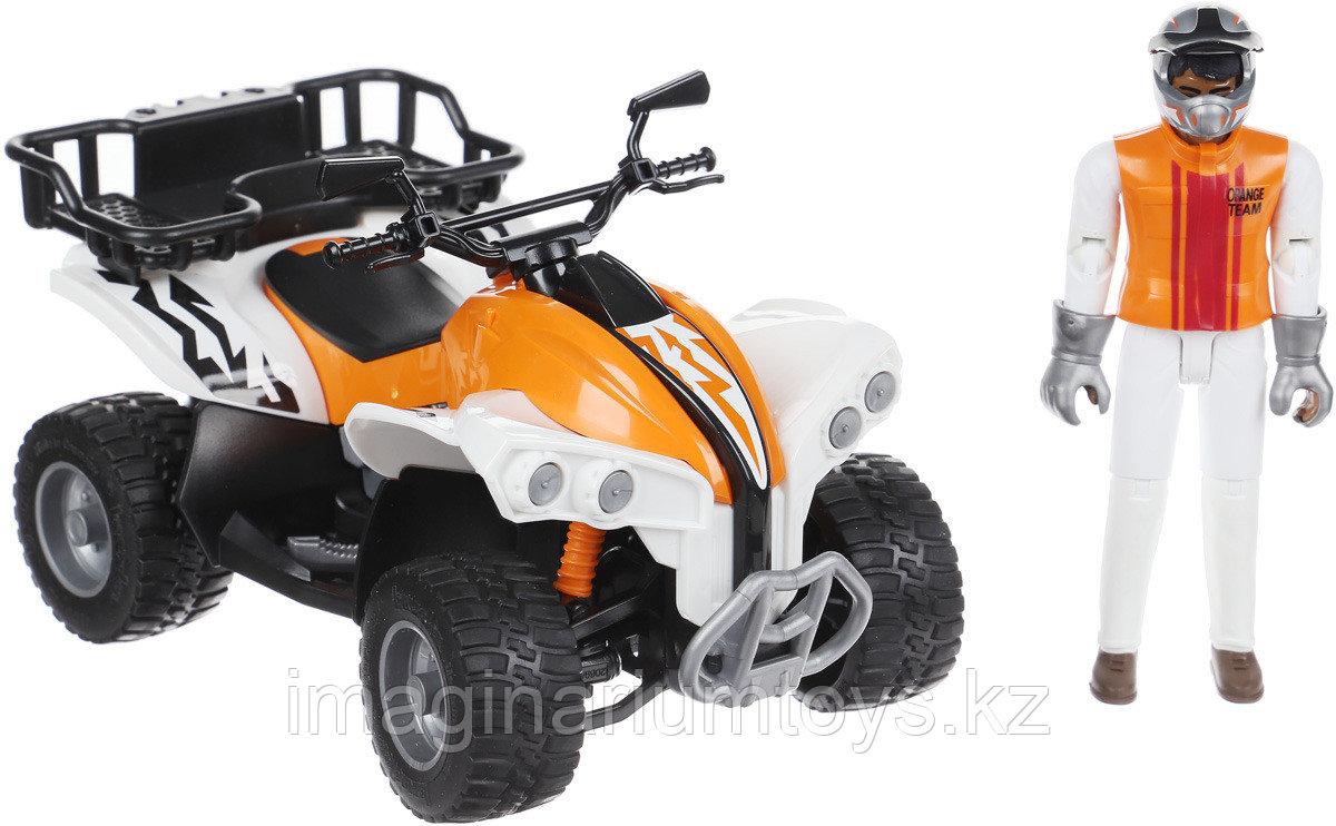 Bruder набор Квадроцикл с гонщиком