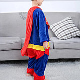 Детская пижама кигуруми Супермен, фото 2