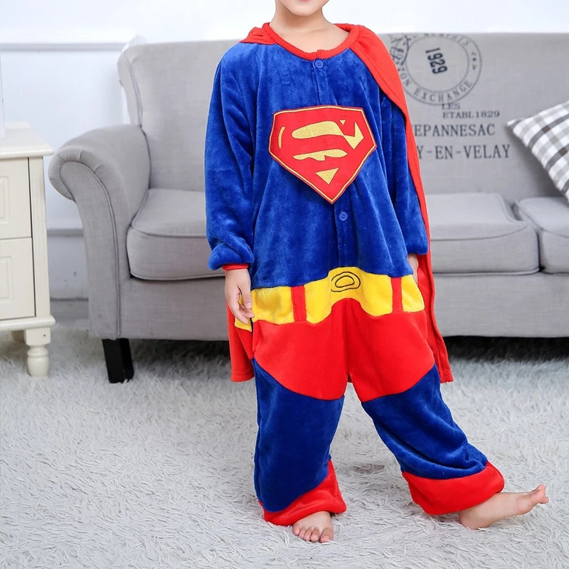 Детская пижама кигуруми Супермен